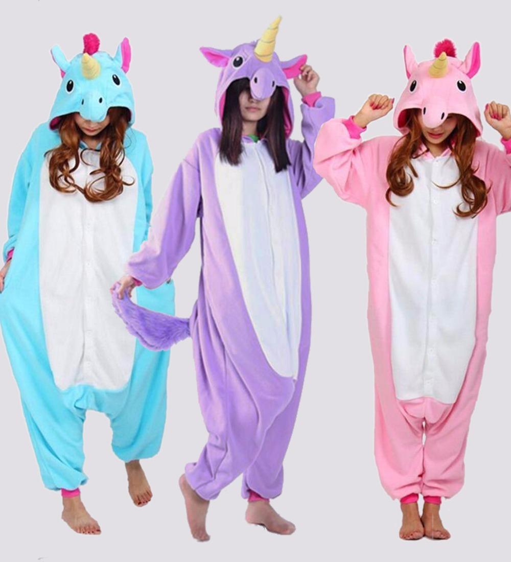 pigiama intero unicorno