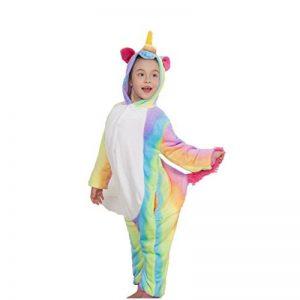 pigiama unicorno arcobaleno bambina