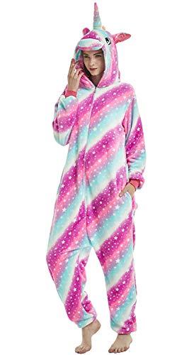 pigiama unicorno multicolor