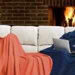 pigiama coperta con maniche