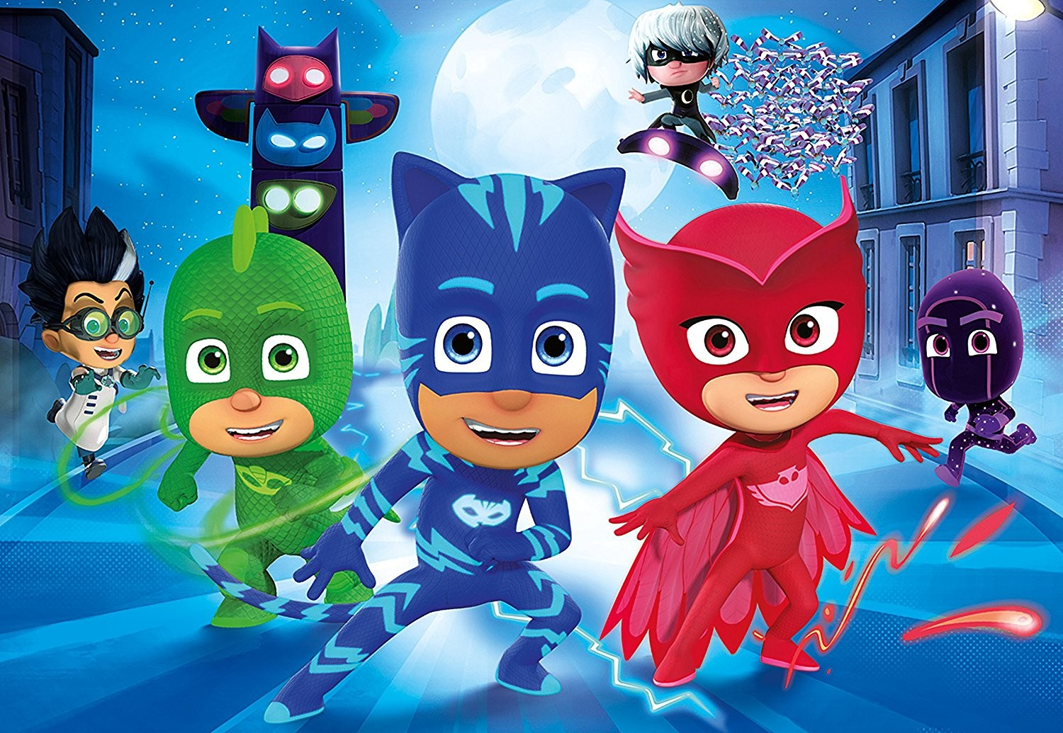 Super pigiamini la guida completa al mondo dei pj masks for Disegni da colorare super pigiamini